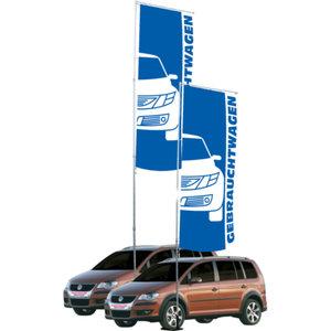 Flaggstång mobil 7,80 med flaggbom