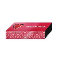 Chokladhjärtan 3-pack i miniask