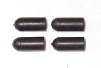 Universell gummiplugg 4.5mm - sats om 4