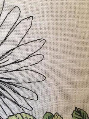 Gardinlängd,blommig från B&J