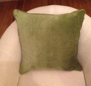Kuddfodral,grön från Choff
