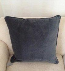 Kuddfodral,grå från Choff