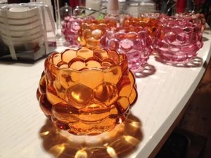 Bulliga Ljuslyktor i glas från TradeMan