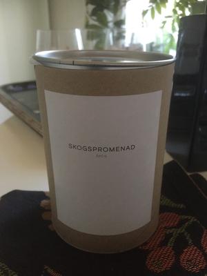 Doftljus En mild doft av Skogspromenad från Storefactory