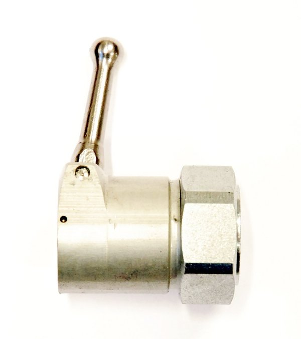 Control for MB25 on/off (nut and lever complete)
