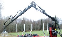 We-8300S complete with 4,5t Flens rotator and grapple We-20B 4G