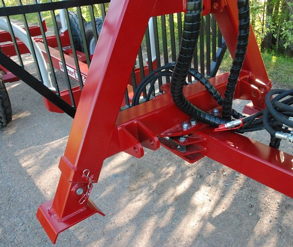 Three-point frame with telescopic legs for We-4200