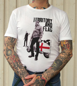 T-shirt- Territory and Flag