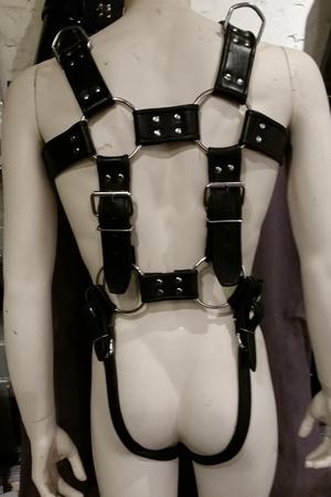 Leder Gurtzeug Bondage Körper