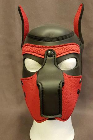 Puppy-mask i Neopren, Svart