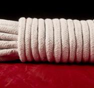 White Cotton Bondage Rope
