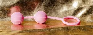 Kegel Balls Ribbed