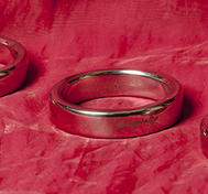 Conic Cock Ring, Stainless steel, 45-55 mm