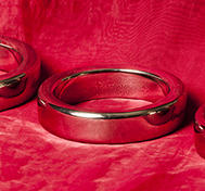 Heavy Cock Ring, Stainless steel, 45-55 mm