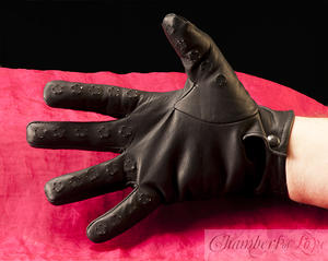 Vampir-Handschuhe Frau
