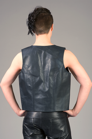 Leather Vest Bar Code (multiple colors)