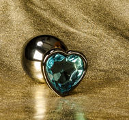 Analsmycke Hjärtkristall (S - L)