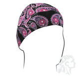 Zan Headgear Purple Paisley