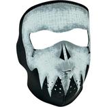 Zan Headgear helmask Gray Skull Glow