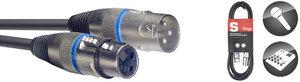 10M/33F MIKE CBL XLRf-XLRm/BLU