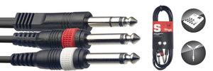 1M/3FT SPLIT MLD ST.PLUG-2PLUG