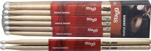 1Pr.Maple Sticks-Nylon Tip/5Bn