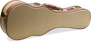 """21""""Gold Tweed Soprano Uku.Case"""