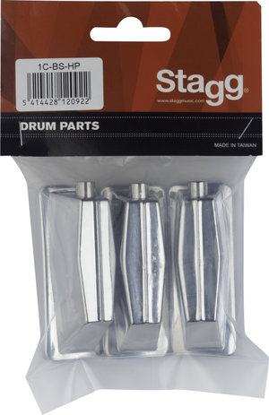 3 Lugs For Bass Drum