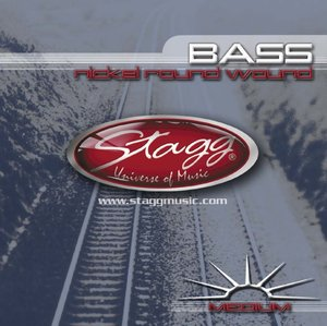 4-Str Bass Set/Ni Rnd Wd/Med