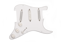 Pickguard  Dave Murray Loaded  White