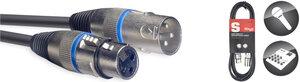 6M/20FT MIKE CBL XLRf-XLRm/BLU