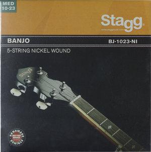 Banjo 5-Str Set/Nickel/Med Lt