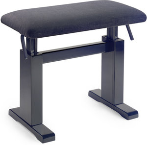 Black Hydro Bench Mat Velvet BK