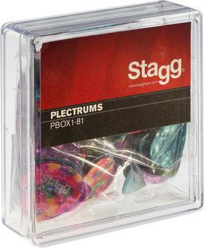 BOX OF 100PCS PLECTRA, 0.81MM