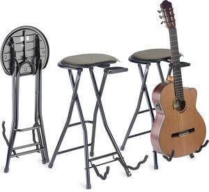 Foldable Stool w/guitarstand