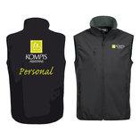 Basic Softshell Vest Personal Herr 020911