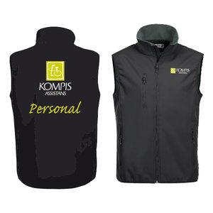 Basic Softshell Vest Personal Dam 020916