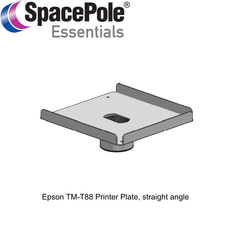 Epson TM-T88 Printer Plate, straight angle