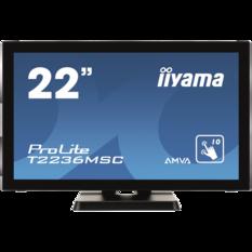 iiyama ProLite T2236MSC, 54.6cm (21.5''), Projected Capacitive, 10 TP, Full HD, black