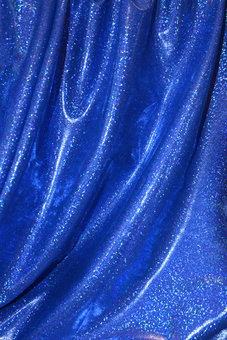 MYSTIC - glitter/blå