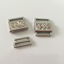 BIKINISPÄNNE - silver/crystal