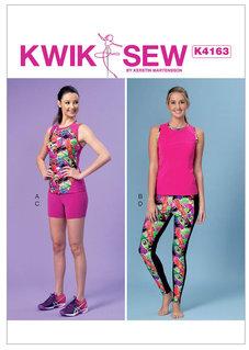 Tights, Shorts & Linnetop, XS-XL