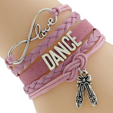 "ETERNITY ""Love Dance"" armband - rosa"