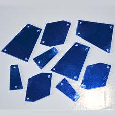 SPEGELSTRASS - blå