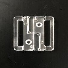 BIKINISPÄNNE - transparent /fäste 2 cm