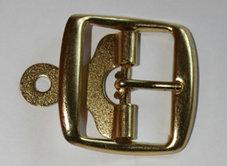 METALLSPÄNNE guld 3,8 cm