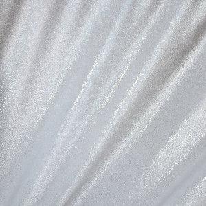 GLITTERSAMMET - vit/silver