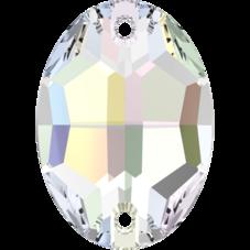 3210 Crystal AB, 24x17 mm
