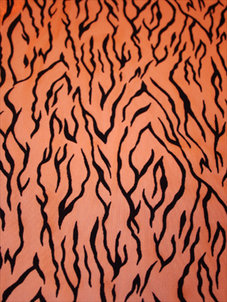 BLACKFLAMES - orange/svart