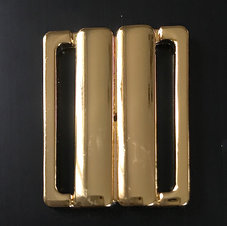 BIKINISPÄNNE - guld metallic/ fäste 3 cm